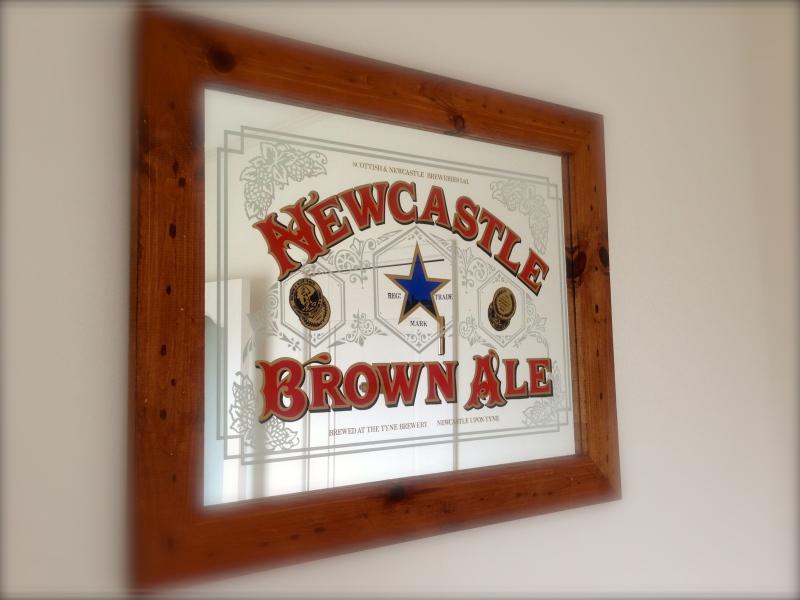 これはスコットランドのビールの宣伝用みたいです