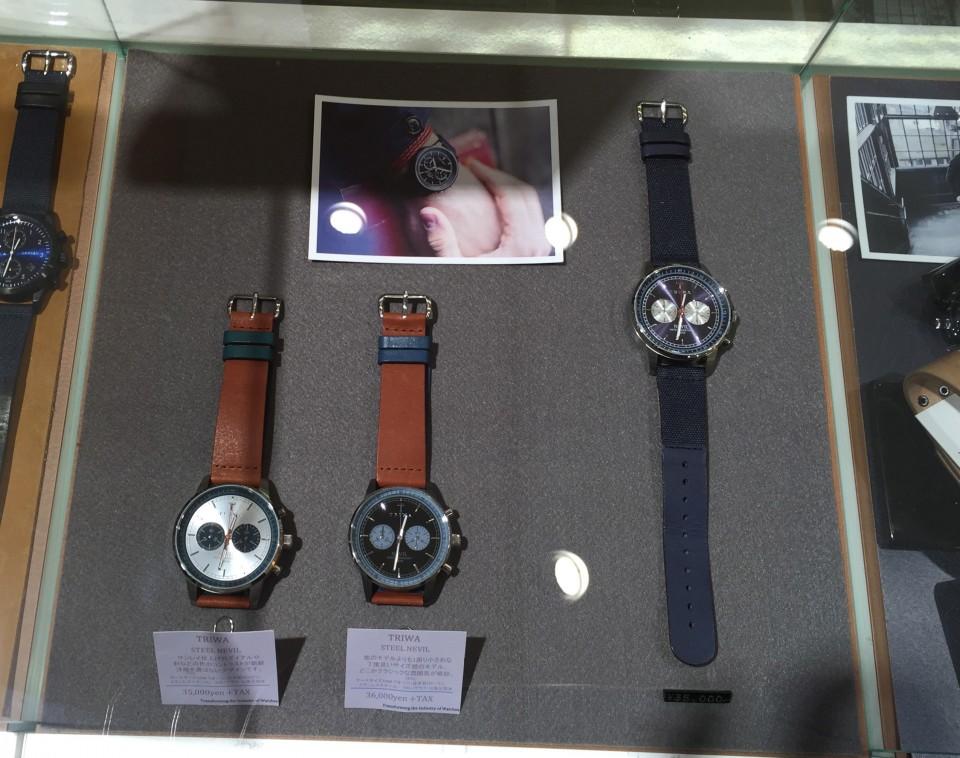 型別でまとめています。時計での例。
