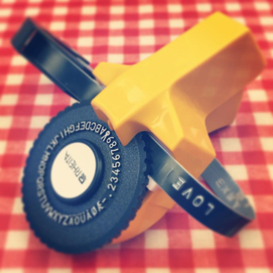 RHEITAのテープライター
