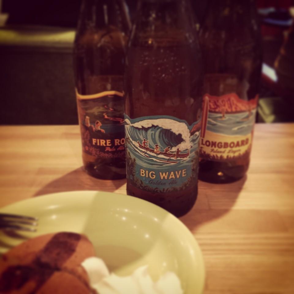 ファイアーロックは一番左のビール