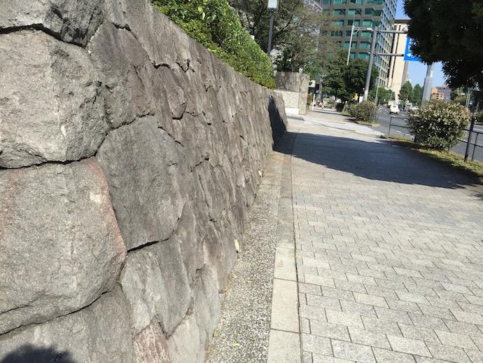国立劇場の石垣