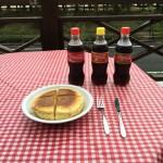 続:ホットケーキにコカ・コーラを注いでみたら・・・