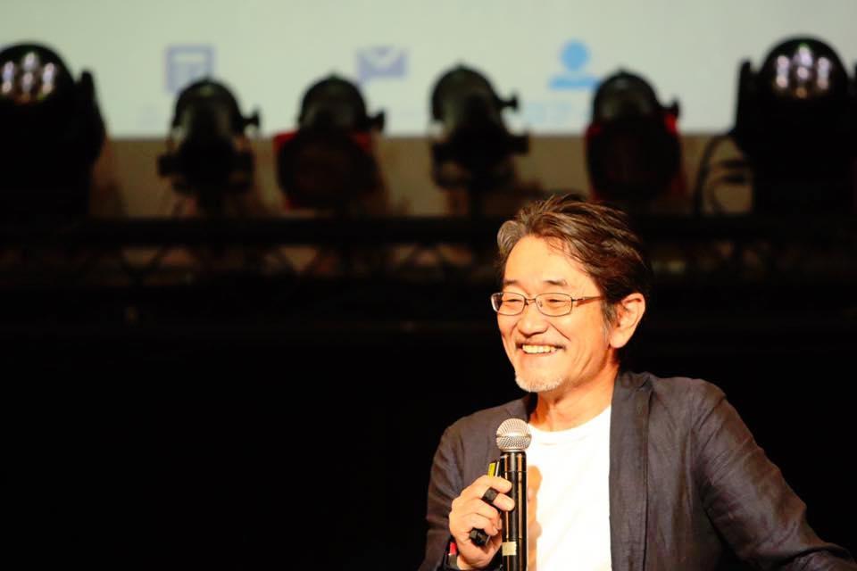 タクミこと花井康成さんが撮った藤村先生の写真