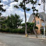 芝生の庭を中心としたコミュニティ|深江文化村